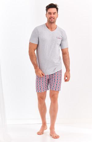 Pánské pyžamo Taro Dominik 2386 kr/r M-2XL 'L20 tmavě modrá