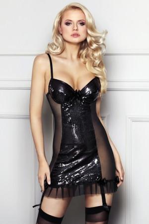 Erotická košilka Florencia černá