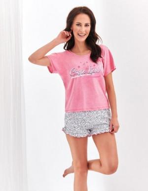 Taro Willy 2279  'L20 dámské pyžamo S mátový melanž