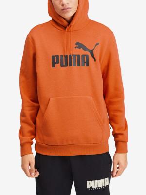 Mikina Puma Essentials+ Fleece Hoody Oranžová