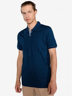 Indigo Polo triko Jack & Jones Modrá