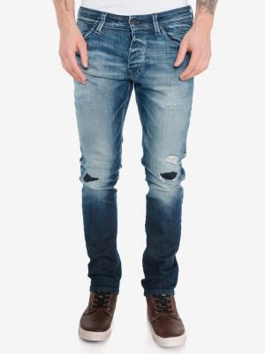 Glenn Fox Jeans Jack & Jones Modrá