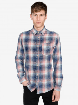 Knox Košile Jack & Jones Modrá