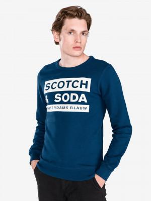 Mikina Scotch & Soda Modrá