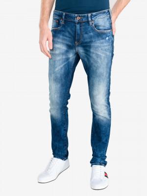 Skim Jeans Scotch & Soda Modrá
