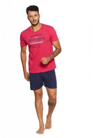 Henderson Core 37841 Razor Pánské pyžamo M fuchsie