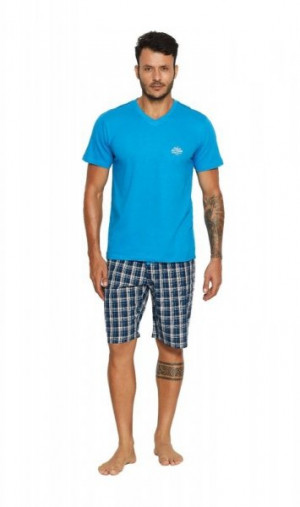 Henderson 37828 Vital Pánské pyžamo M blue