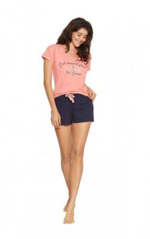 Henderson Ladies 38054 Fizzy Short dámské pyžamo XL pink