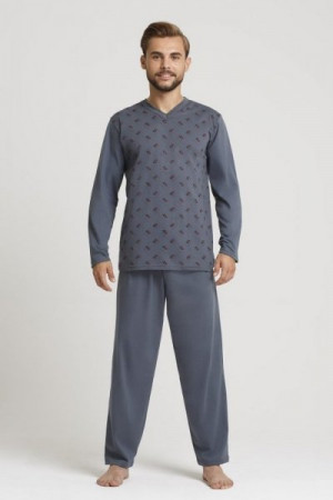 Gucio 4XL-5XL Pánské pyžamo 4XL mix barva-mix vzor