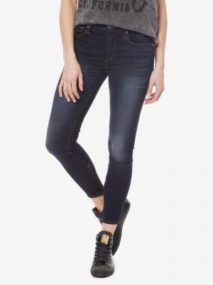 Halle Jeans True Religion Modrá