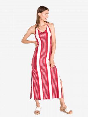 Azur Šaty SuperDry Červená