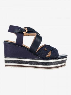 American Wonder Klínová obuv Wrangler Modrá