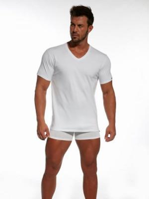 Cornette 201 pánské tričko L bílá