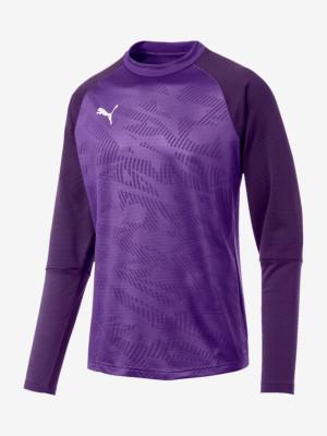 Mikina Puma Cup Training Sweat Core Fialová
