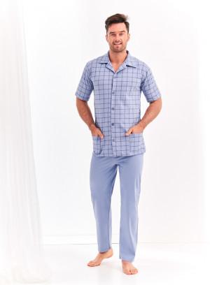 Pánské pyžamo Taro Gracjan 954 kr/r 2XL-3XL 'L20 šedá