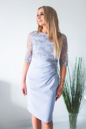 Dámské šaty Silvana model 131429 - Jersa  šedá
