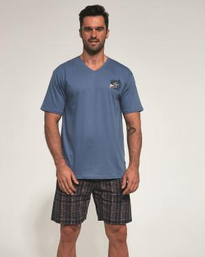 Pánské pyžamo Cornette 326/95 Sail kr/r S-2XL modrá
