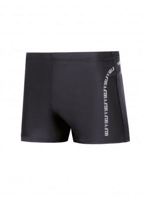Pánské plavky boxerky Self S 99D 3XL-4XL černá 3XL