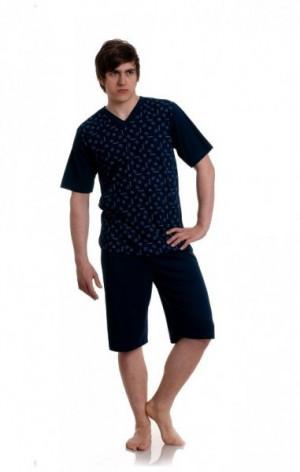 Gucio 943 4XL pánské pyžamo 4XL mix barva-mix vzor