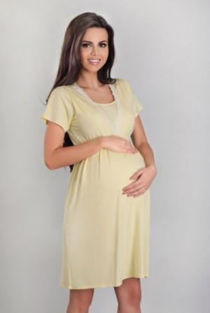 Lupoline 3061 noční košile 40 žlutá
