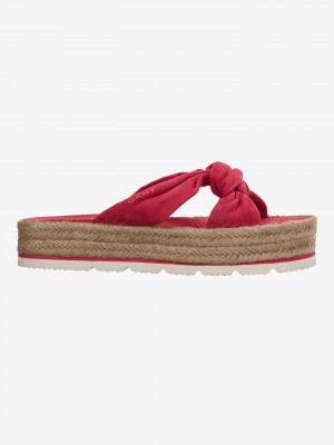 Cape Coral Pantofle Gant Červená