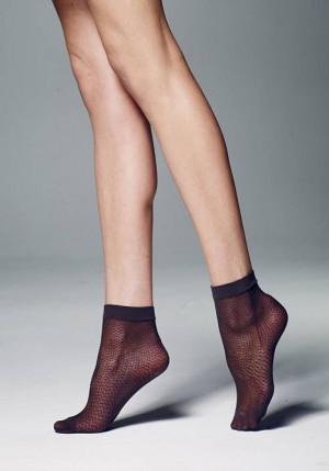 Dámské ponožky Veneziana Puntini 20 černá univerzální