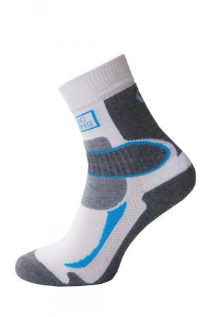 Ponožky Sesto Senso Nordic Walking 01 šedo-bílá 45-47