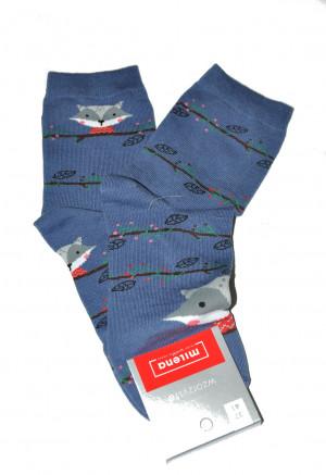 Dámské nepárové ponožky Milena