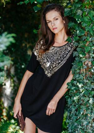 Dámské šaty LHD 930 A20 černá