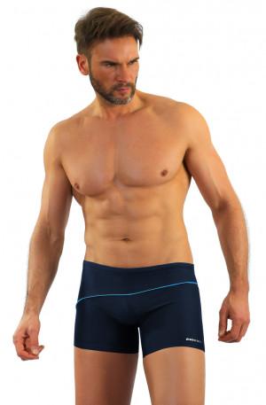 Pánské plavky boxerky BD 314 tmavě šedá