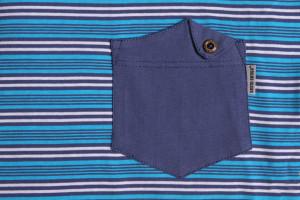 Pánské pyžamo s krátkými rukávy 05 jeans-pruhy