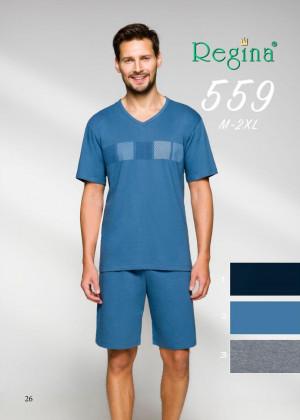 Pánské pyžamo 559  C. MELANŻ