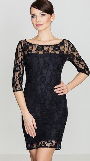 Dámské šaty K109 - Katrus černá