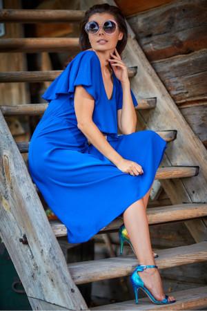 Dámské šaty model 133672 - Awama  královská modř