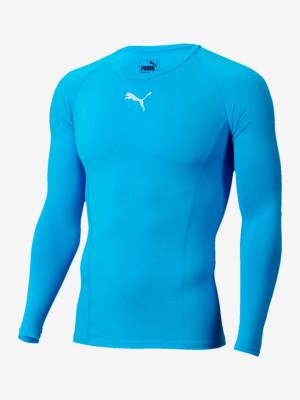 Tričko Puma Liga Baselayer Tee Ls Modrá