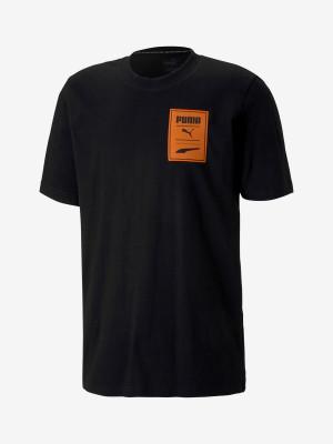 Tričko Puma Recheck Pack Graphic Tee Černá