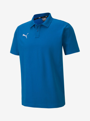 Tričko Puma Teamgoal 23 Casuals Polo Modrá