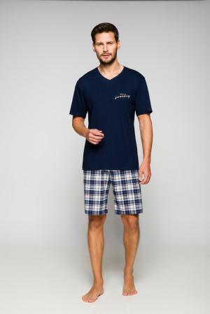 Pánské pyžamo Regina 561 kr/r 2XL  bordó