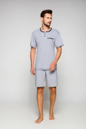Regina 557 pánské pyžamo M tmavě modrá