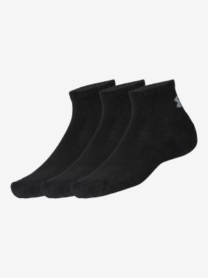 Ponožky Under Armour Training Cotton Qtr Černá
