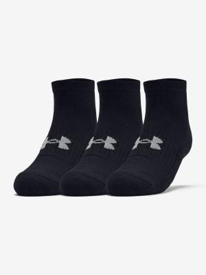 Ponožky Under Armour Training Cotton Locut Černá