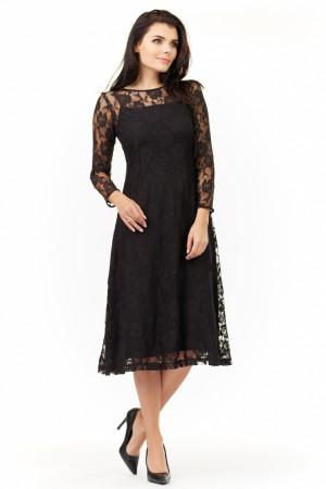 Dámské šaty A205 - Awama  černá