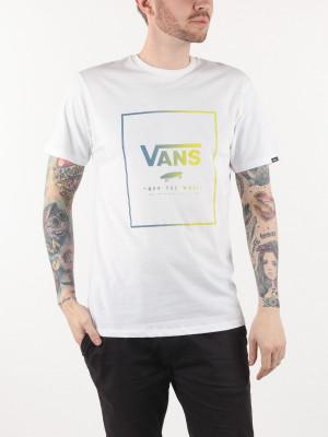 Tričko Vans Mn Print Box Ss White/Sulphur Bílá
