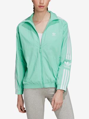 Bunda adidas Originals Nylon Track Top Zelená