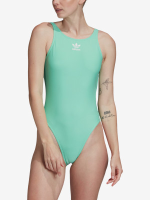 Plavky adidas Originals Trf Swim Zelená