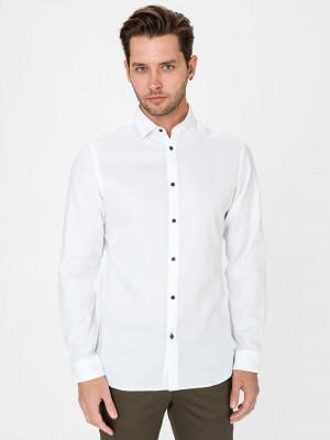 Smith Košile Jack & Jones Bílá