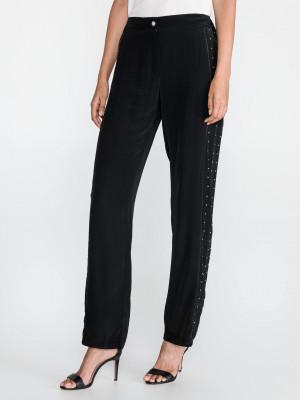 Kalhoty Just Cavalli Černá