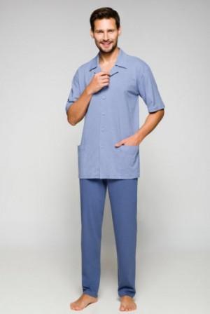 Regina 558 plus pánské pyžamo XXL tmavě modrá