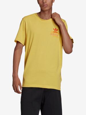Tričko adidas Originals Shattered Emb Žlutá