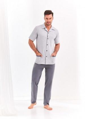 Taro Felix 2391 L'20 plus pánské pyžamo XXL světle modrá